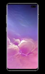 Samsung Galaxy S10 Ceramic Black Front - 2000x1333